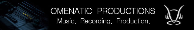 www.omenatic.com: Omenatic Productions is an Independent Music Production Label, run by internationally recognised Songwriter, Producer and Engineer, Damien Dean.